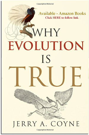 Why Evolution is True, by Jerry Coyne