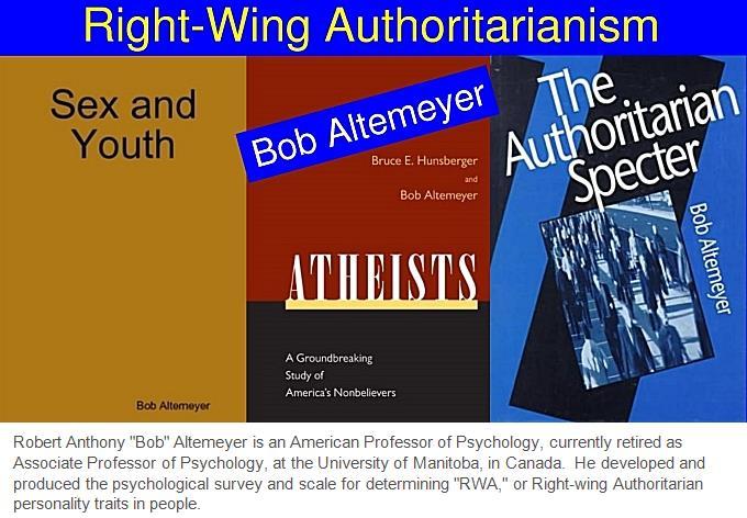 Bob Altemeyer's books.