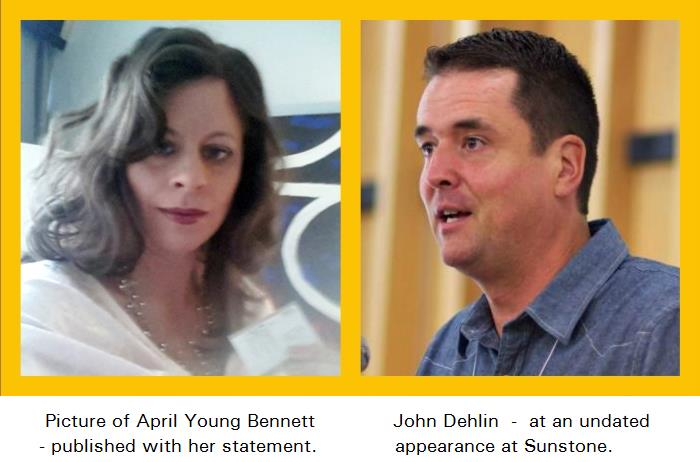 John Dehlin, and April Young Bennett, captioned