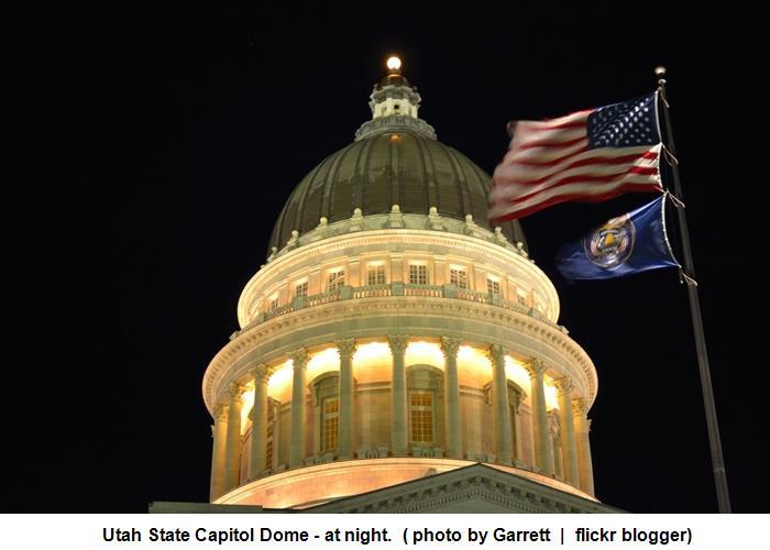Utah State Capitol Bldg (Garrett - flickr blogger)